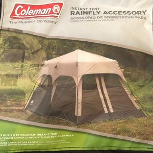 Rainfly instant tent accessory